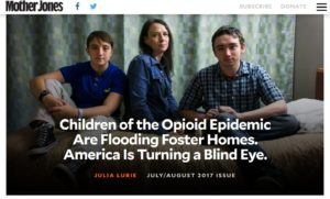Children of the Opioid Epidemic Are Flooding Foster Homes. America Is Turning a Blind Eye. – Mother Jones
