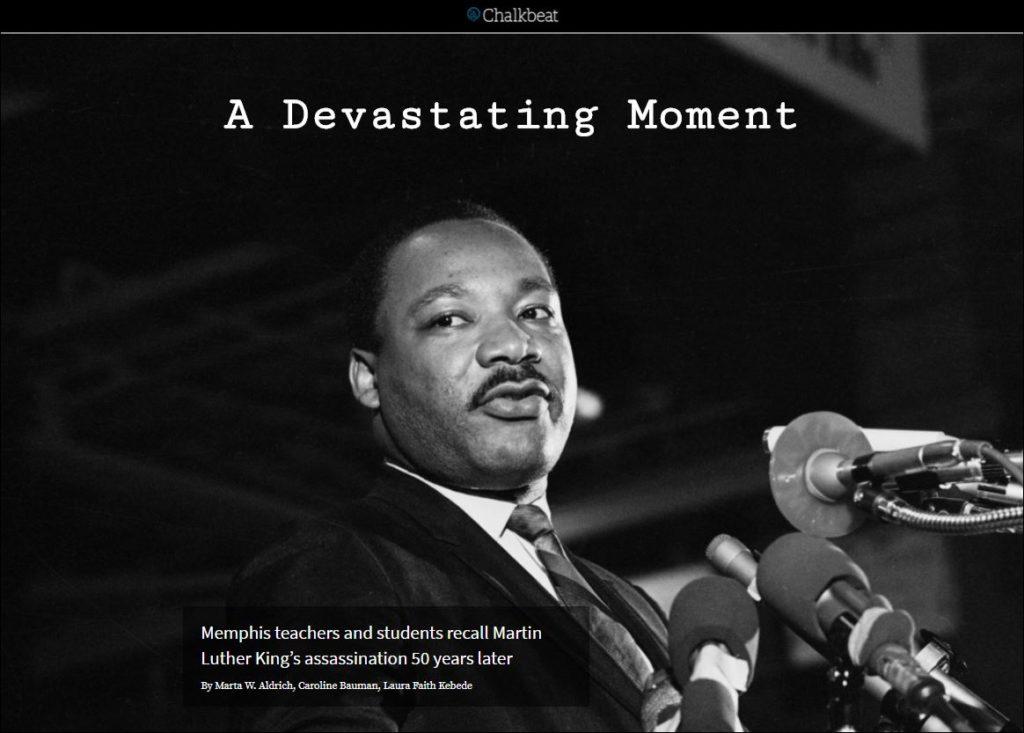 chalkbeat MLK march 2018