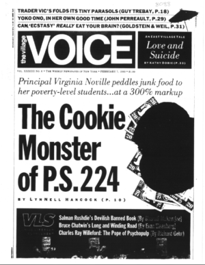 "Nearly 30 years later, ""The Cookie Monster of P.S. 224"" by LynNell Hancock stands the test of time."