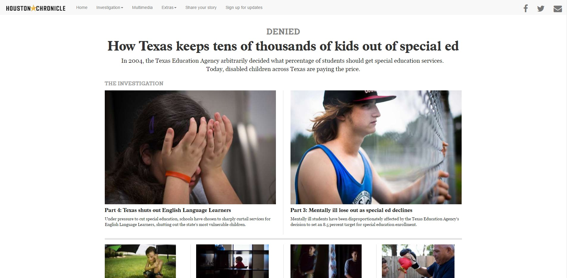 Denied How Texas Keeps Tens Of >> Denied How Texas Keeps Tens Of Thousands Of Kids Out Of Special Ed