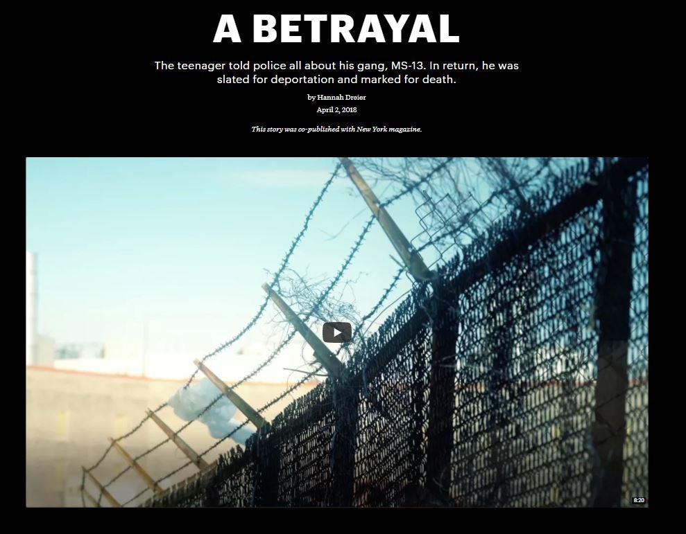 a betrayal