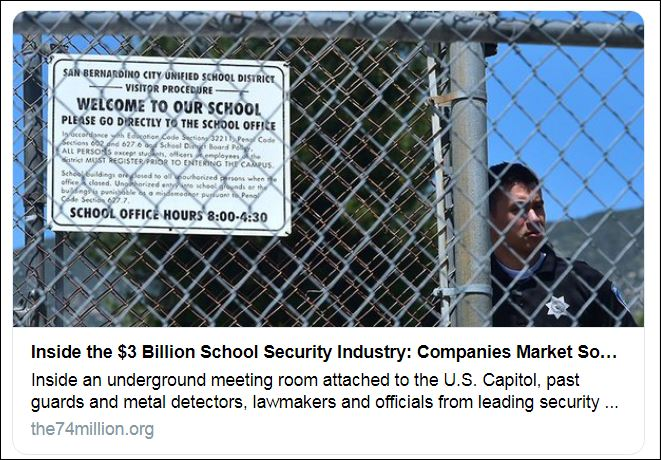 the 74 school security industry