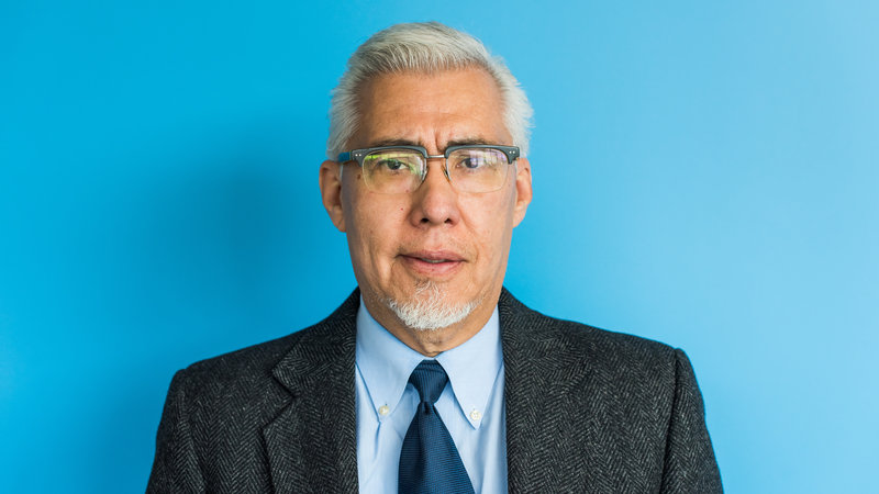 claudio sanchez 2018 npr headshot blue
