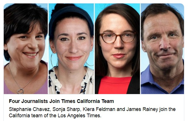 Four Journalists Join Times California Team Twitter Search