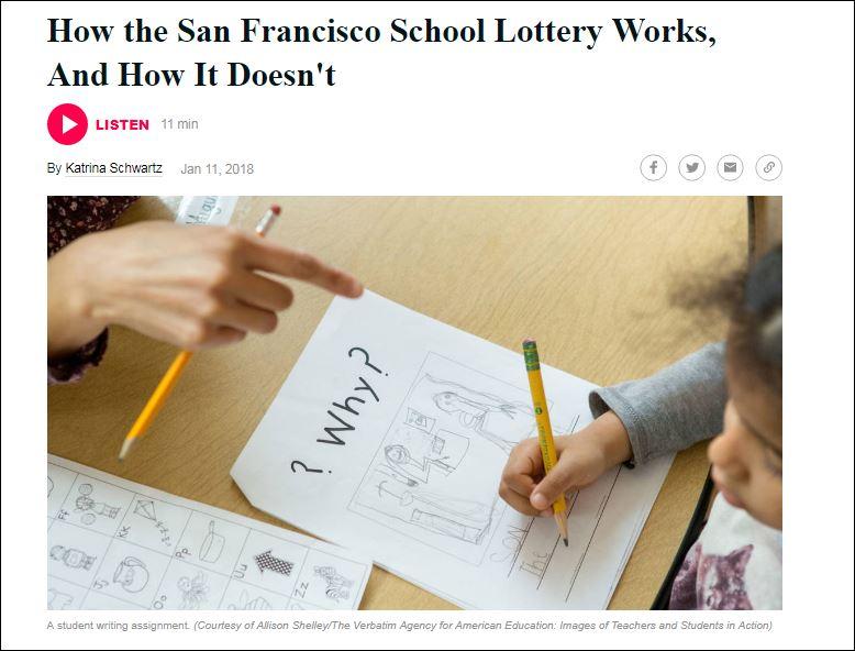 kqed jan 2018 lottery story